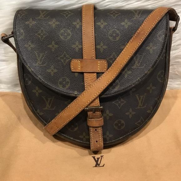 1b16f140fdba ON SALE! Louis Vuitton Chantilly GM (Large) 6.4 E
